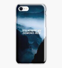 imagine dragons - demons iPhone Case/Skin