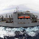 Trockenfracht und Munitionsschiff USNS Sacagawea. von StocktrekImages