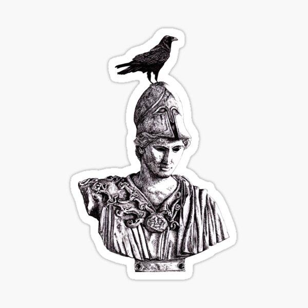 The Raven, Nevermore Sticker