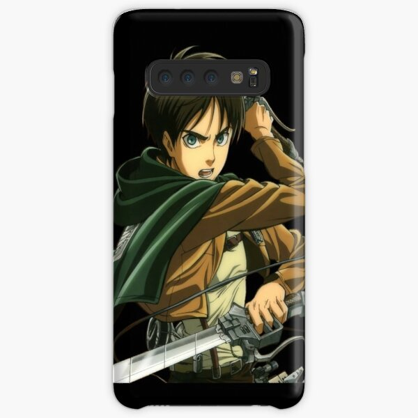 Coque pour Samsung Galaxy S20 PLUS Manga Attaque titans noir taille unique