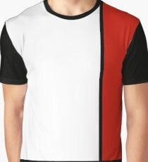 Mondrian Style Abstract Art Graphic T-Shirt