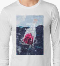 love me or leave me alone - illustration T-Shirt