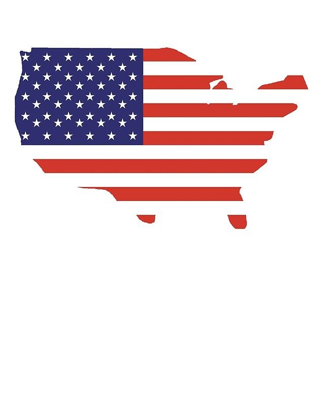american flag country outline america americana stars stripes usa