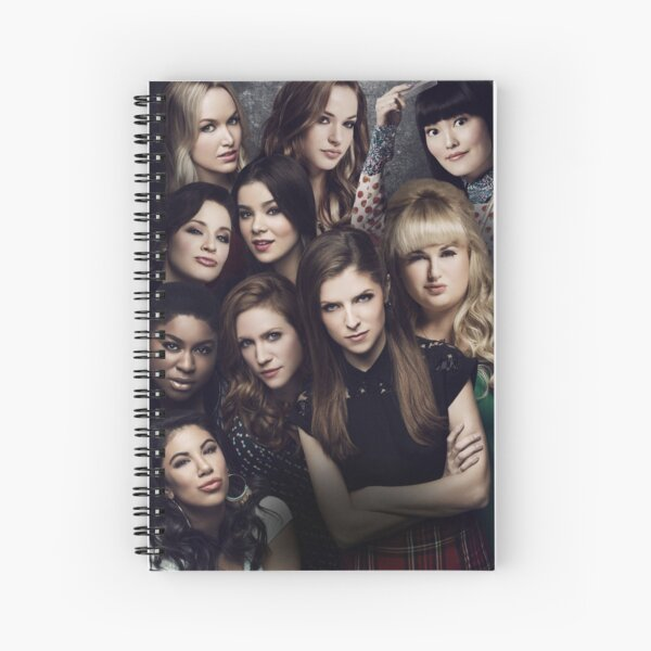Barden Bellas - Pitch Perfect 2 Spiral Notebook