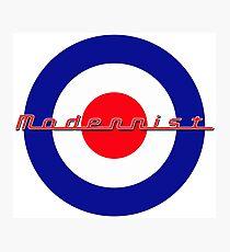 Modernist Target Photographic Print