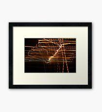 Crazy City 58 Framed Print