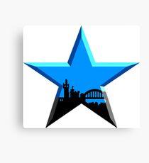 Lienzo Geordie Star