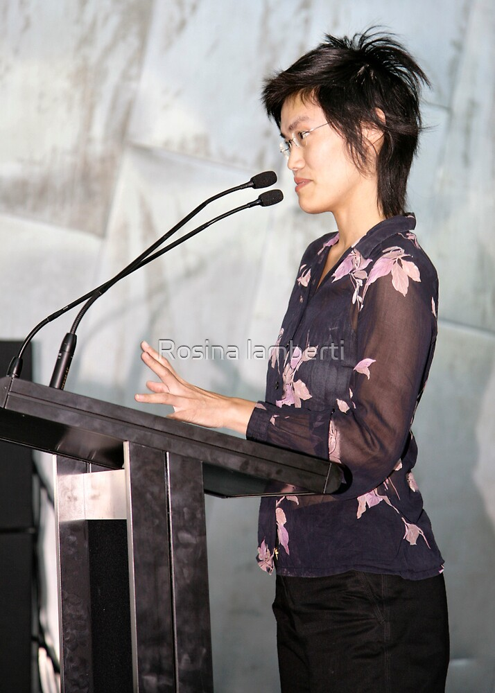 10th March 2007,Poetry@FedSquare, by Rosina lamberti