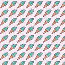 Succulent Ice Cream - Pattern by Millusti