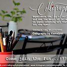 CALLIGRAPHY CLASS by Kamaljeet Kaur