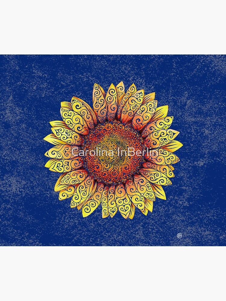 Swirly Sunflower by CarolinaMatthes