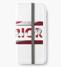 Warrior - American Flag (USA) iPhone Wallet/Case/Skin
