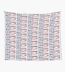 Warrior - American Flag (USA) Wall Tapestry