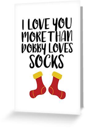 Mehr als Dobby liebt Socken von FairyNerdy