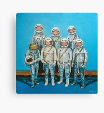 1959: Astronaut Frosches Weltraumrennen Leinwanddruck