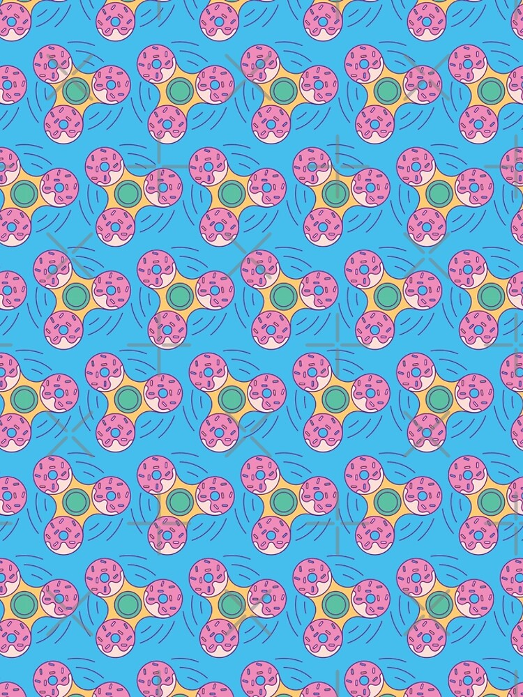 Doughnut Fidget Spinner - Pattern by Millusti