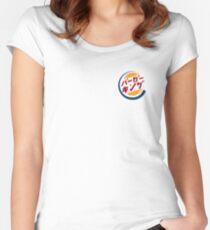 Japanese Burger King Logo Women's Fitted Scoop T-Shirt