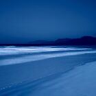 "The illuminated ""Four Mile Beach"" in Port Douglas at Night by Imi Koetz"