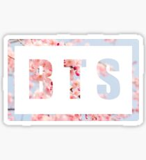 BTS floral Sticker