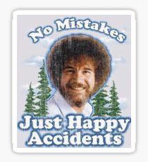 Bob Ross is the G.O.A.T. Sticker