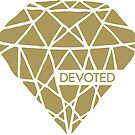 Devoted - Gold Yellow by marjoriejackson