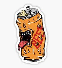 Monster Beer Sticker