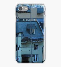Catty-Corner Reflections At 19th And M Streets -- 2 iPhone Case/Skin