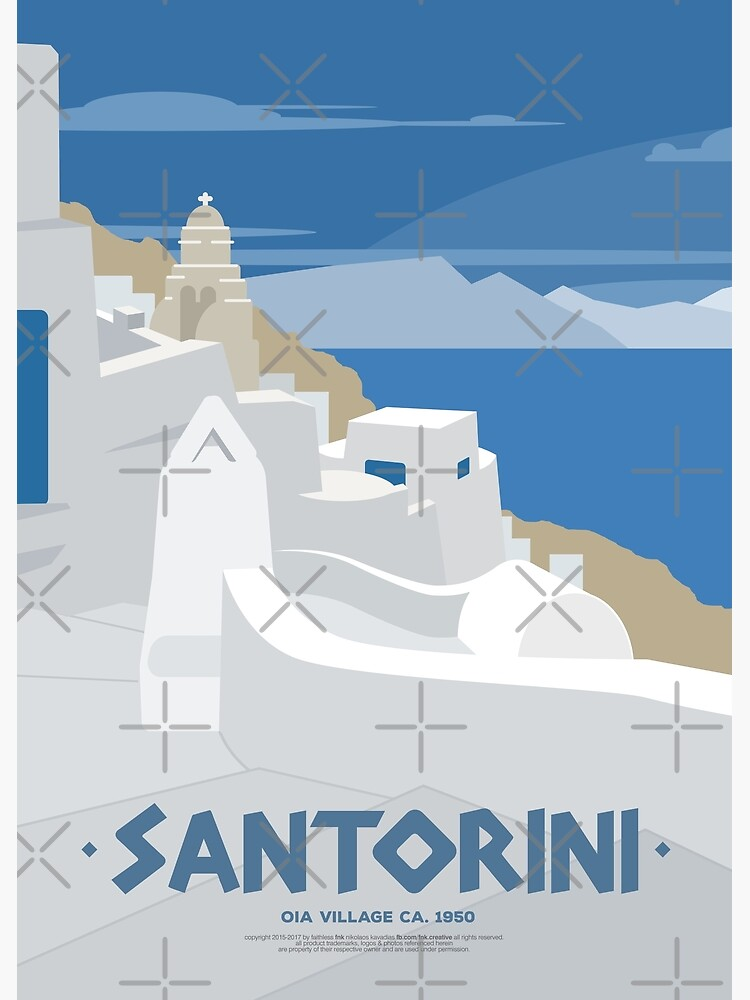 Oia village in Santorini (GR) by fnk-creative