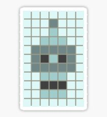 Bender Invader Tiles Sticker