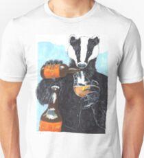 Craft Beer Badger Unisex T-Shirt