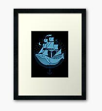 Whaleship Framed Print