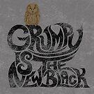 Grumpy is.... (+ Owl) by . VectorInk