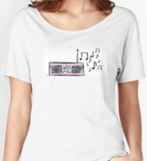 Della Music Women's Relaxed Fit T-Shirt