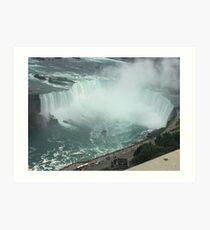 The Horseshoe Falls Art Print