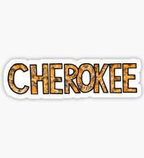 cherokee Sticker