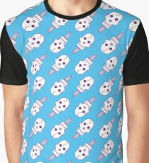Skull Pop - Pattern Graphic T-Shirt