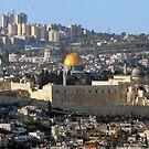 Jerusalem: Old & New by Eyal Nahmias