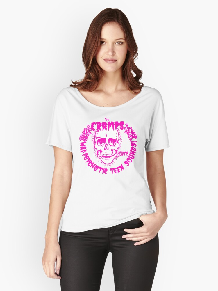 Psychotic Teen Sounds Womens Relaxed Fit T Shirt By Creamy Hamilton Redbubble