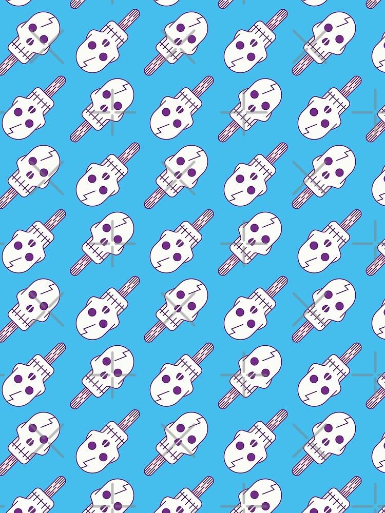 Skull Pop - Pattern by Millusti