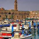 Acre port, Israel by Eyal Nahmias