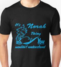 Name shirt custom design for - Norah Unisex T-Shirt