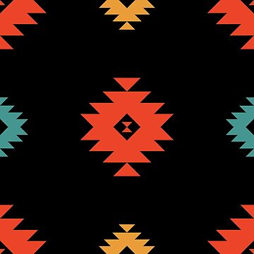 Native American Pattern #1 by thinoquinn
