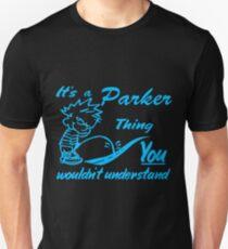 Name shirt custom design for - Parker T-Shirt
