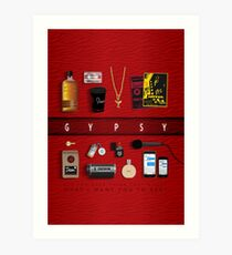 Gypsy Items Art Print