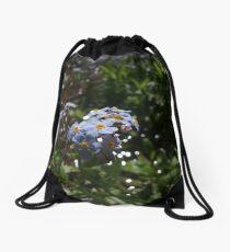 Water forget-me-not (Myosotis scorpioides) Drawstring Bag