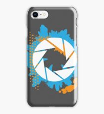 Portal - Abstract Aperture Logo iPhone Case/Skin