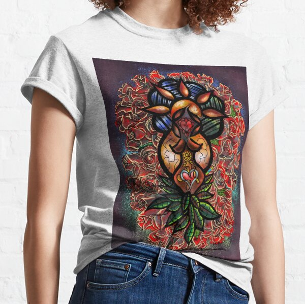Abstract Lady Classic T-Shirt