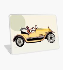 Saturday Summer Drive Laptop Skin