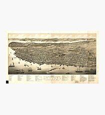 Panorama of Halifax, Nova Scotia, Canada (1879) Photographic Print