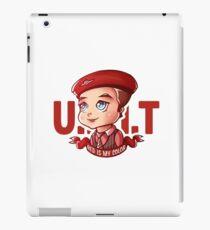 Ianto (UNIT cap) iPad Case/Skin
